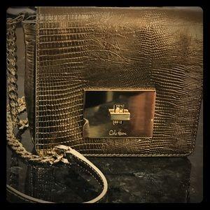 🎁👠Cole Haan Metallic Cross Body Bag